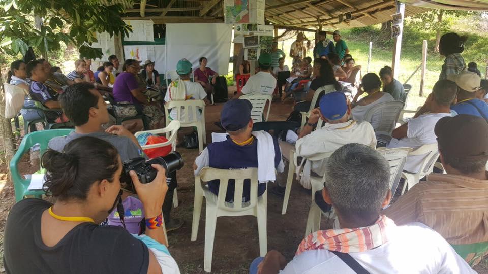 Campesinado de a zona de reserva campesina del valle del río Cimitarra construye su protocolo de protección individual y colectiva.