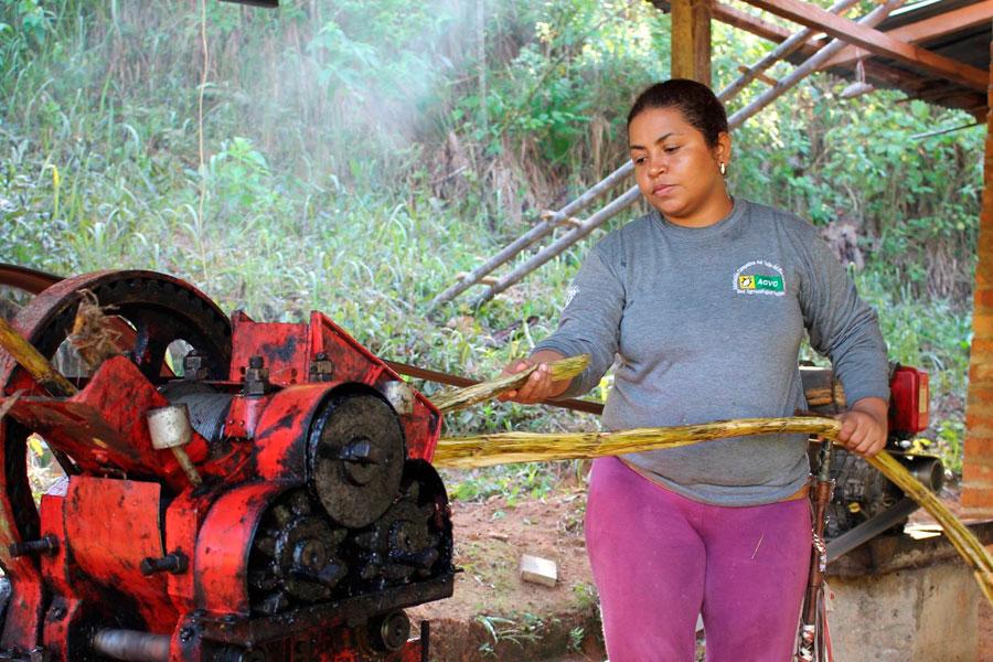 Mujeres del valle del río Cimitarra
