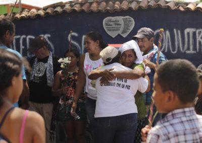 Homenaje a las víctimas de Puerto Nuevo Ité y restauración del monumento IV